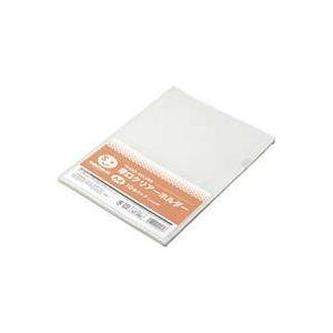 (業務用100セット) ジョインテックス 厚口クリアホルダー A4乳白10枚 D310J ×100セット