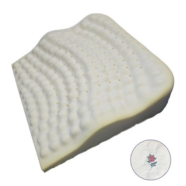 低反発枕/ピロー 【背中フィット】 洗えるカバー付き(オロペサ)【送料無料】