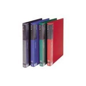 (業務用50セット) ビュートン リングクリヤーブック クリアブック RCB-A4-20 A4S 青 ×50セット