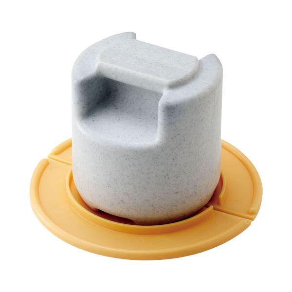 【10セット】 漬物石/漬物用品 【びん・かめ用重石・押蓋セット】 PE コンクリート 〔キッチン用品 家庭用品 手づくり〕【代引不可】