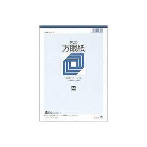 (業務用100セット) アピカ 方眼紙 ホウ12 A4 1ミリ方眼 ×100セット