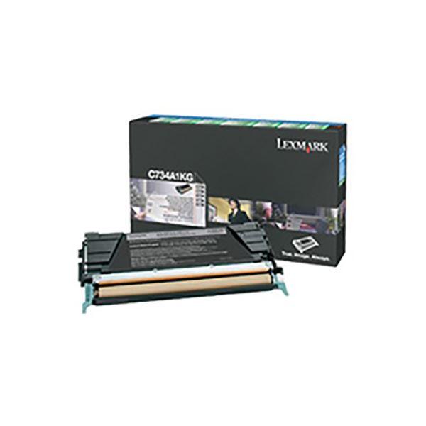 (業務用3セット) 【純正品】 LEXMARK インクカートリッジ/トナーカートリッジ 【C734A1KG BK ブラック】 8K RPトナー