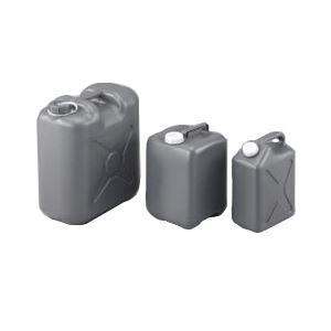 (まとめ)廃液貯蔵瓶(平角グレー缶)FG-20【×3セット】