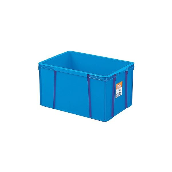 【6セット】 ホームコンテナー/コンテナボックス 【HC-64B】 ブルー 材質:PP 〔汎用 道具箱 DIY用品 工具箱〕【代引不可】