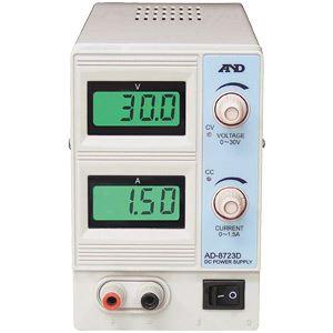 A&D(エーアンドデイ)電子計測機器 直流安定化電源(30V、1.5A)AD-8723D【代引不可】