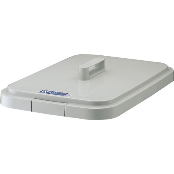 【12セット】 ダストボックス/ゴミ箱 【フタのみ単品】 90S用蓋 ライトグレー 角型 『ベルク』 〔家庭用品 掃除用品 業務用〕【代引不可】