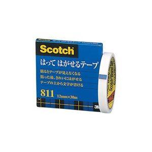 (業務用100セット) スリーエム 3M メンディングテープ 811-3-12 12mm×30m ×100セット