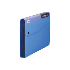 (業務用50セット) キングジム ドキュメントファイル 2276 A4L 33mm 青 ×50セット