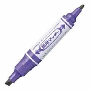 (業務用200セット) ゼブラ ZEBRA 紙用マッキー WYT5-PU 紫 ×200セット