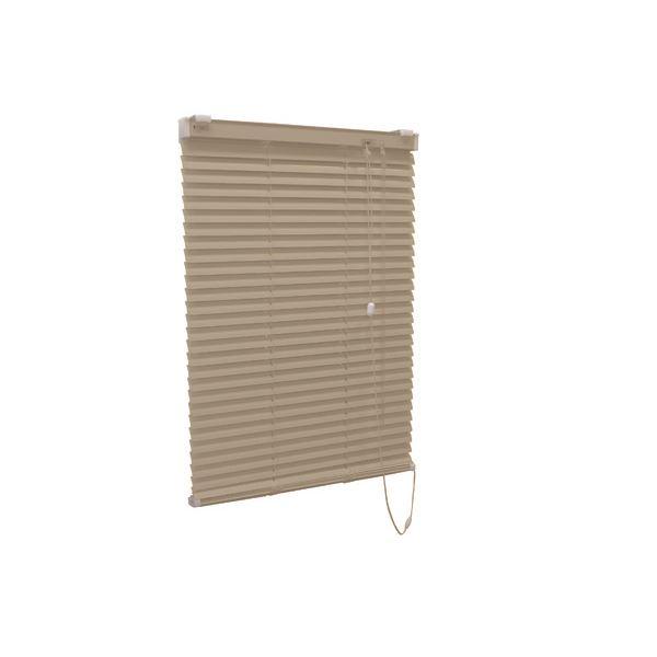 アルミ製 ブラインド 【遮熱コート 165cm×108cm カルアベージュ】 日本製 折れにくい 光量調節 熱効率向上 『ティオリオ』【代引不可】【送料無料】