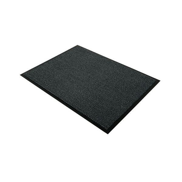 FLOORTEX ドアマット 49120DCBWV 1200×900mm 黒/白