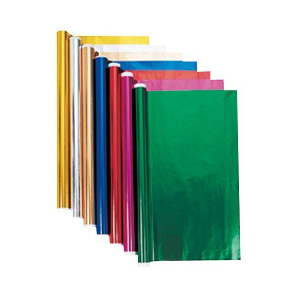 (業務用10セット) キッズ ホイルロール紙 5m ブルー
