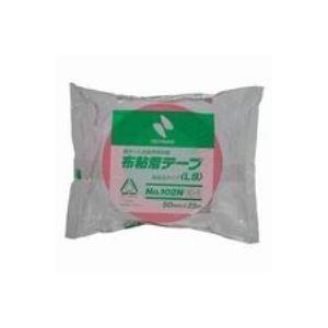 (業務用100セット) ニチバン カラー布テープ 102N-50 50mm×25m ピンク ×100セット