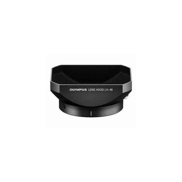 OLYMPUS 金属レンズフード ブラック LH-48-BLK LH48BLK