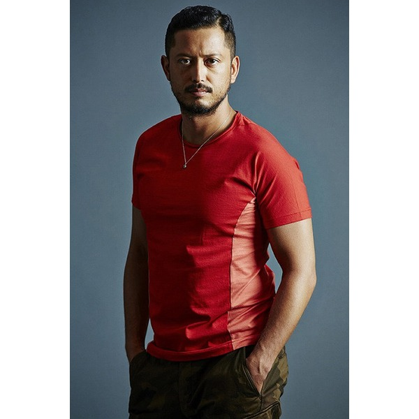 VADEL draping dolman crew-neck RED サイズ44【代引不可】