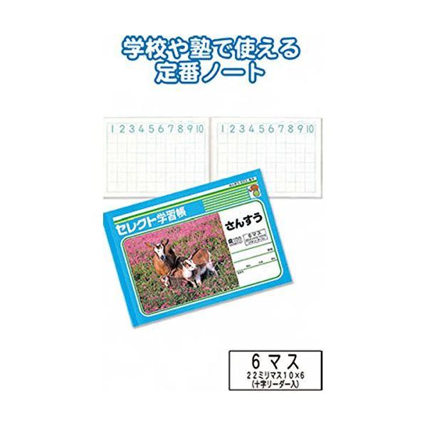 学習帳K-1さんすう6マス 【10個セット】 31-371