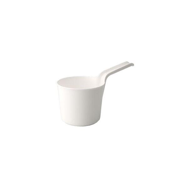 【40セット】 シンプル 手桶/湯おけ 【ホワイト】 材質:PP 『HOME&HOME』【代引不可】