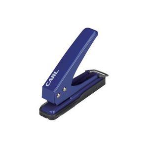 (業務用100セット) カール事務器 1穴パンチ SD-15-B ブルー ×100セット