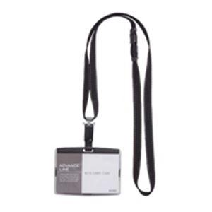 (業務用100セット) ソニック 吊下げ名札 ハード AL-842-D ブラック ×100セット
