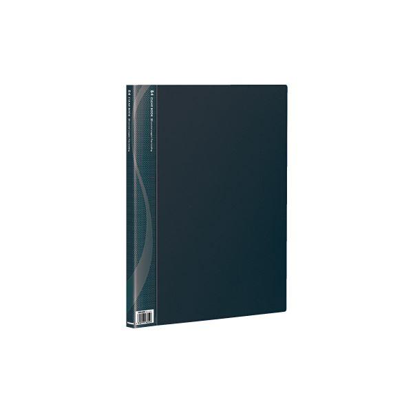 (業務用セット) B4クリアブック 20ポケット ベーシックカラー CB1022D-N ブラック【×10セット】, 葉栗郡:ee9ad9ed --- onlinesoft.jp