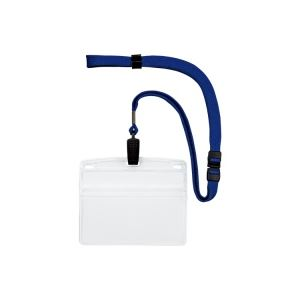 (業務用20セット) オープン工業 吊下げ名札クリップ ソフト横特大 NL-21-BU ×20セット