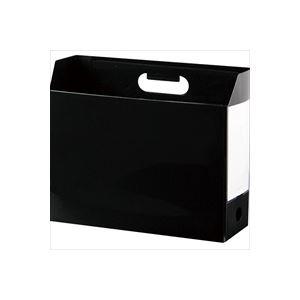 (業務用100セット) セキセイ アドワンボックスF AD-2651-60 ブラック ×100セット