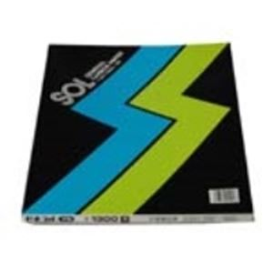 (業務用10セット) ゼネラル ゾルカーボン紙 #1300-K 片面筆記 黒 ×10セット