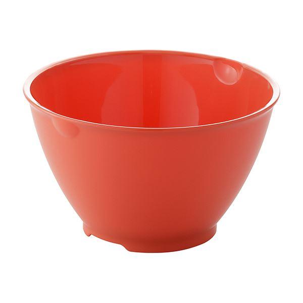 【40セット】 ボール/調理器具 【Sサイズ レッド】 材質:PP 『リベラリスタ』【代引不可】