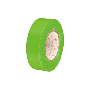 (業務用300セット) ヤマト ビニールテープ NO200-19 19mm*10m 若草 ×300セット