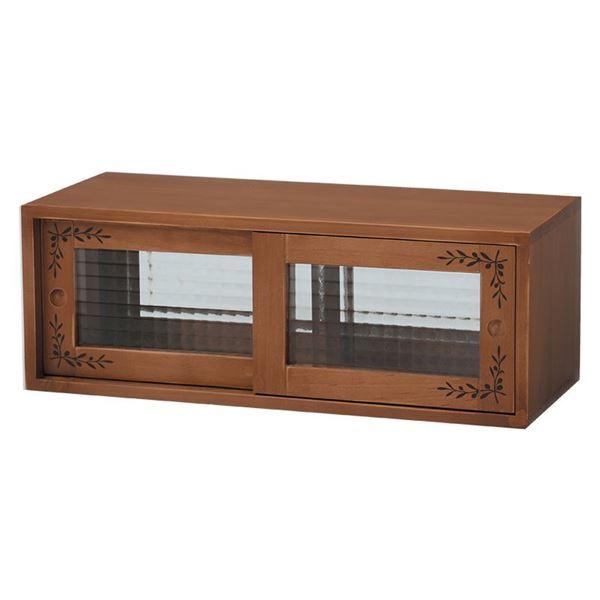 【ランキング獲得】 Alnair 鏡面 上置き 40cm幅【すぐ使えるクーポン進呈中】送料無料 鏡面 鏡面仕様 キッチン収納 食器棚 FAL-0022-DB FAL-0022-WH 収納家具 キッチン収納 食器棚 キッチンボード 開戸タイプ 鏡面 鏡面仕様 上置き