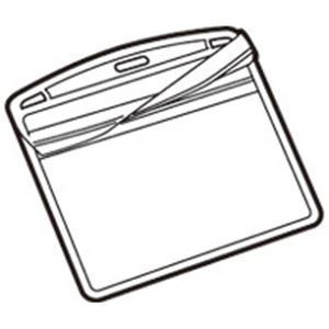 (業務用3セット) ジョインテックス 名札用替ケース C名刺型横100枚 B076J-10 【×3セット】