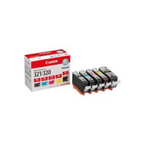 (業務用3セット) 【純正品】 Canon キャノン インクカートリッジ/トナーカートリッジ 【BCI-321+320/5MP】 5色パック