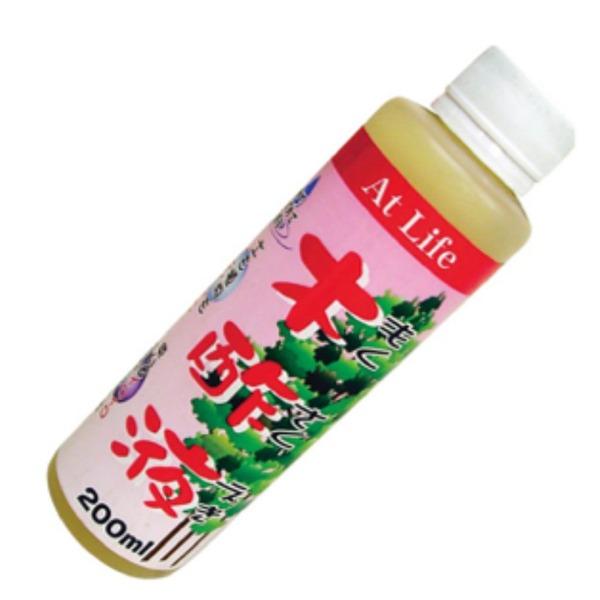 木酢液 200ml【100個セット】 AT-01【代引不可】