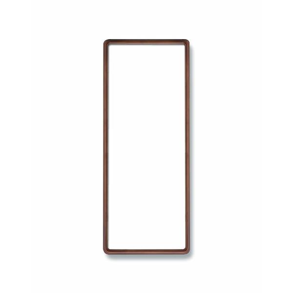 【てぬぐい額】木製てぬぐい額 前面アクリル仕様・縦横兼用 ■高級角丸てぬぐい額(890×340mm)ブラウン