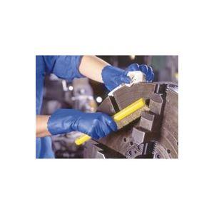 (業務用400セット) ショーワグローブ ゴム手袋ブルーフィット Lサイズ 181 【×400セット】
