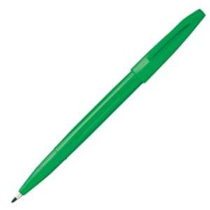 (業務用300セット) ぺんてる サインペン S520-DD 緑 ×300セット