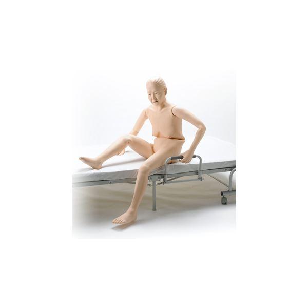 お年寄り介護モデル/看護実習モデル人形 【小春さん】 シリコン製 防水 義歯取りはずし可 M-100-5【代引不可】