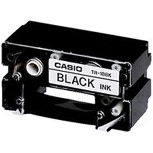 (業務用70セット) カシオ CASIO CR-Rプリンターリボン TR-18BK 黒 【×70セット】【ポイント10倍】