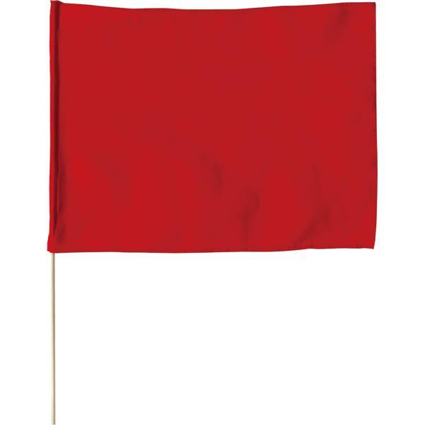 (まとめ)アーテック 大旗(600X450mm)赤 【×30セット】