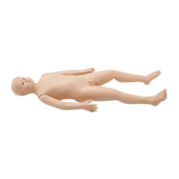タケシくん(小児モデル/看護実習モデル人形) シリコン製 入浴可 シームレス M-106-1【代引不可】