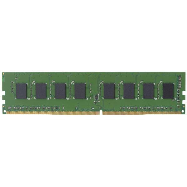 エレコム EU RoHS指令準拠メモリモジュール/DDR4-SDRAM/DDR4-2400/288pinDIMM/PC4-19200/4GB/デスクトップ用 EW2400-4G/RO