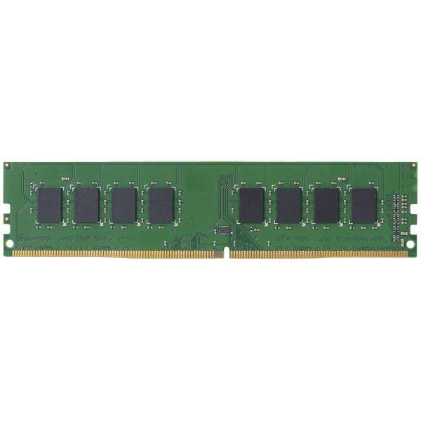 エレコム EU RoHS指令準拠メモリモジュール/DDR4-SDRAM/DDR4-2400/288pinDIMM/PC4-19200/8GB/デスクトップ用 EW2400-8G/RO