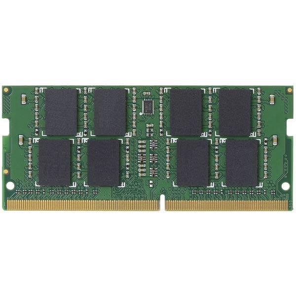 エレコム EU RoHS指令準拠メモリモジュール/DDR4-SDRAM/DDR4-2400/260pinS.O.DIMM/PC4-19200/8GB/ノート用 EW2400-N8G/RO