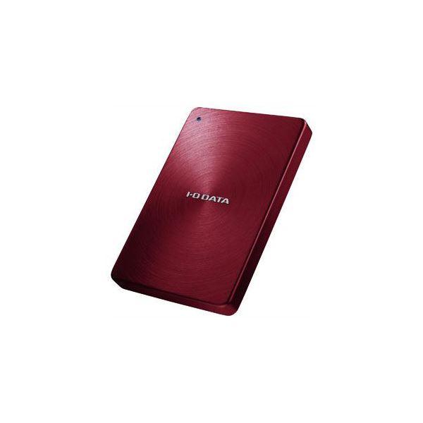 IOデータ USB 3.0/2.0対応 ポータブルハードディスク「カクうす」 1.0TB レッド HDPX-UTA1.0R