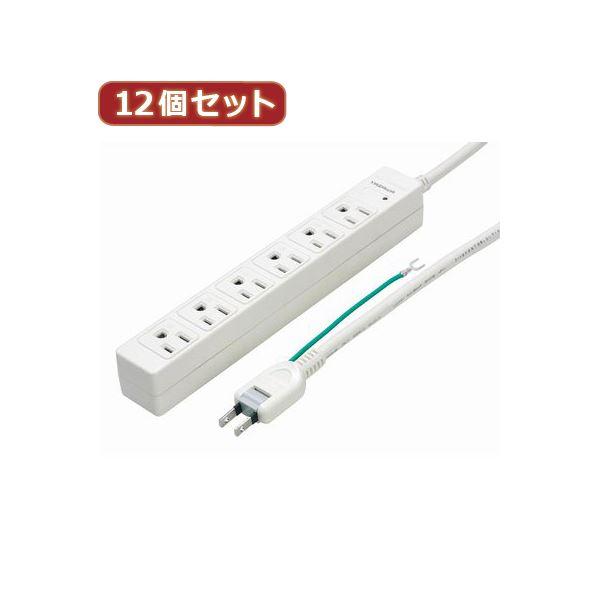 YAZAWA 12個セット 3Pマグネットタップ Y02JKP602WHX12