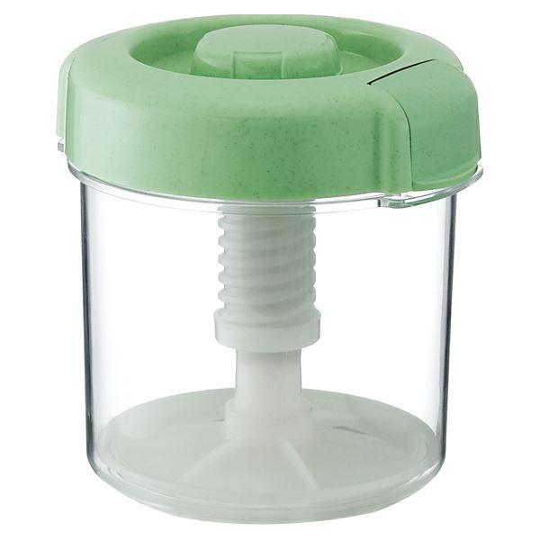 【18セット】 漬物容器/漬物用品 【R-16 グリーン】 ハイペット 〔キッチン用品 家庭用品 手づくり〕【代引不可】