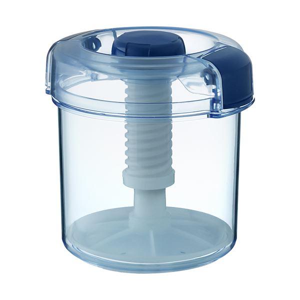 【18セット】 漬物容器/漬物用品 【R-16 クリアブルー】 ハイペット 〔キッチン用品 家庭用品 手づくり〕【代引不可】