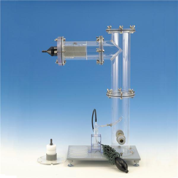 【柴田科学】堆積粉じん再発じん装置 SKY-2型