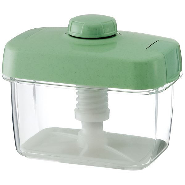 【18セット】 漬物容器/漬物用品 【S-16 グリーン】 ハイペット 〔キッチン用品 家庭用品 手づくり〕【代引不可】