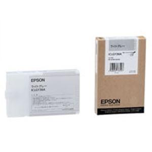 (業務用10セット) EPSON(エプソン) IJインクカートリッジ ICLGY36A ライトグレー ×10セット